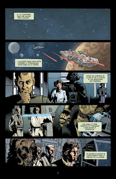 Page 6 star wars - infinities tome 1 - un nouvel espoir