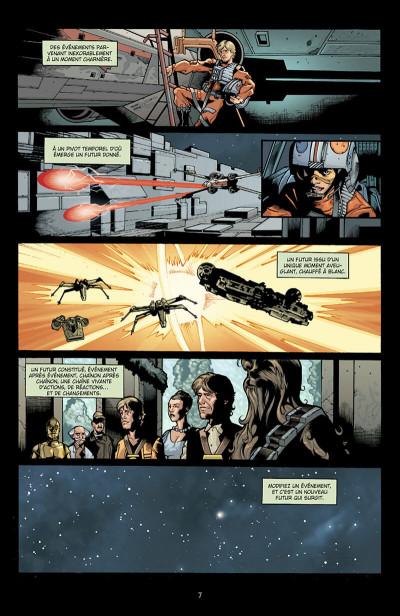 Page 8 star wars - infinities tome 1 - un nouvel espoir