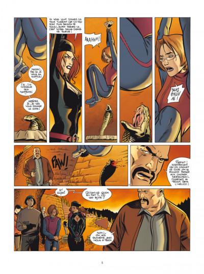 Page 3 golden cup tome 5 le baiser du dragon