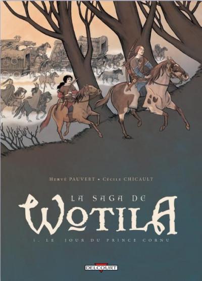 Couverture la saga de Wotila tome 1 - le jour du prince cornu