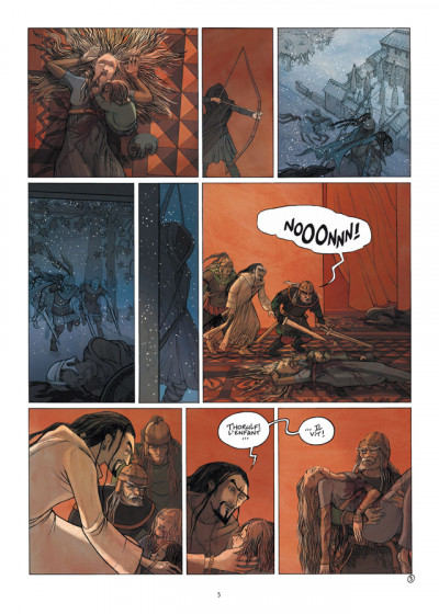 Page 3 la saga de Wotila tome 1 - le jour du prince cornu