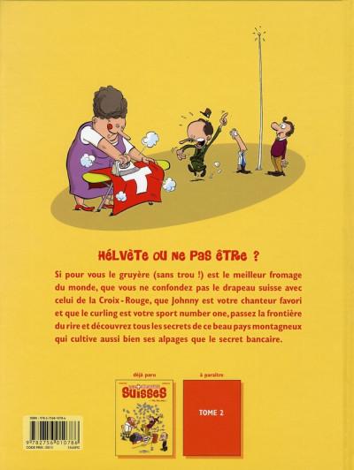 Dos les blagues suisses tome 1 - fisc fisc rage !