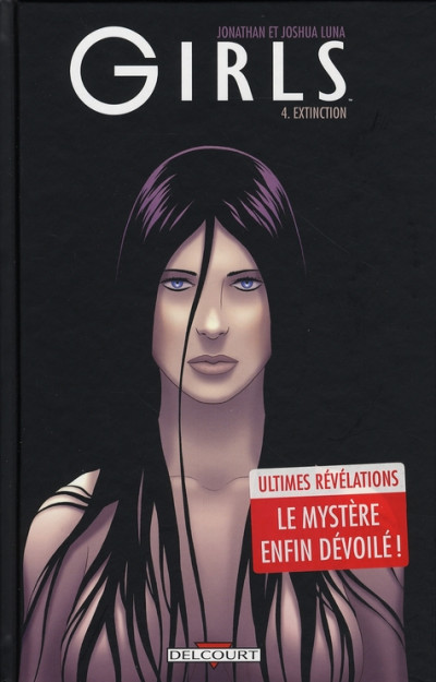 Couverture girls tome 4 - extinction