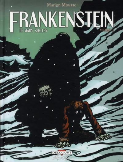 image de frankenstein, de mary shelley tome 3