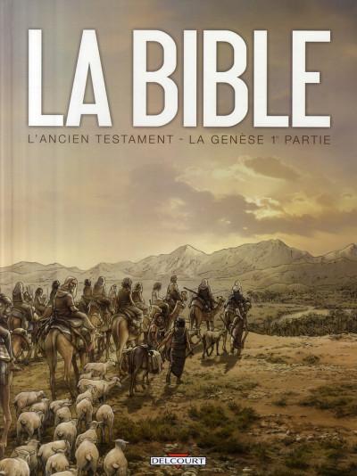 image de la bible, l'ancien testament - la genèse tome 1