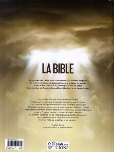 Dos la bible, l'ancien testament - la genèse tome 1