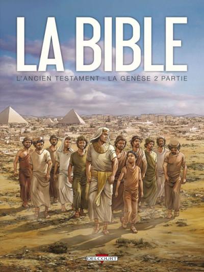 Couverture la bible, l'ancien testament - la genèse tome 2