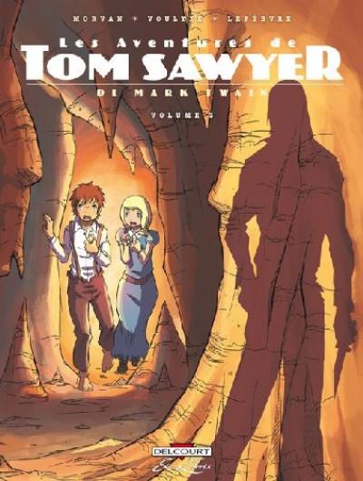 image de les aventures de tom sawyer, de mark twain tome 3