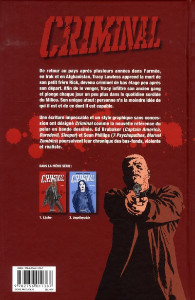 Dos criminal tome 2 - impitoyable