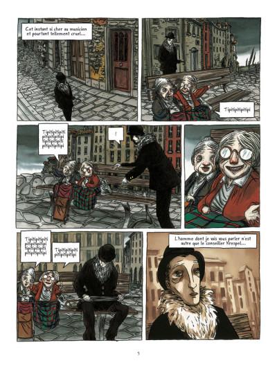 Page 3 les contes d'hoffmann ; le violon de crémone