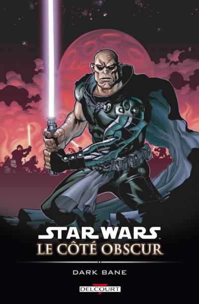 Couverture star wars - le côté obscur tome 9 - dark bane