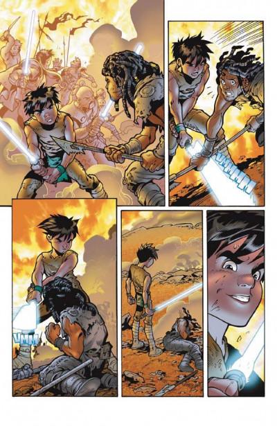 Page 1 star wars - le côté obscur tome 9 - dark bane