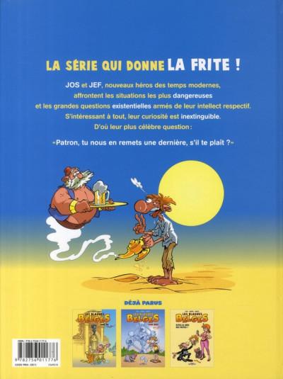 Dos les blagues belges tome 3 - dîtes-le avec des frites !