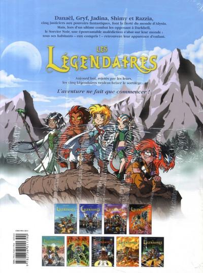 Dos Les légendaires tome 9