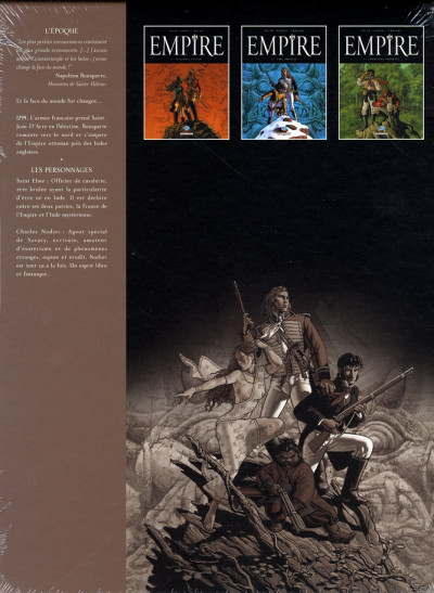 Dos empire - coffret tome 1 à tome 3