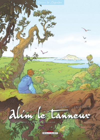 Couverture alim le tanneur tome 4 - là où brulent les regards