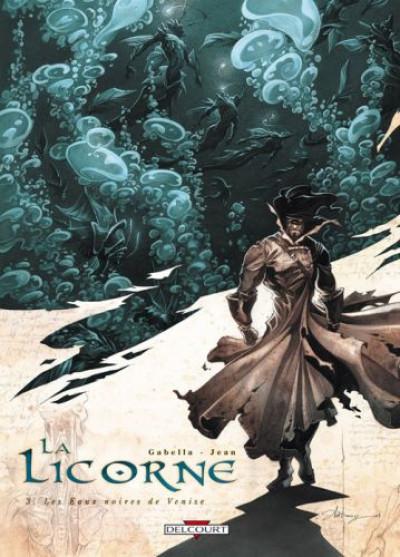 image de la licorne tome 3 - les eaux noires de venise