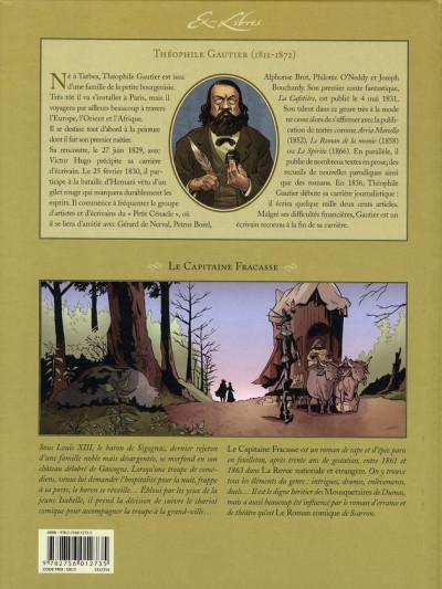 Dos le capitaine fracasse, de théophile gautier tome 1