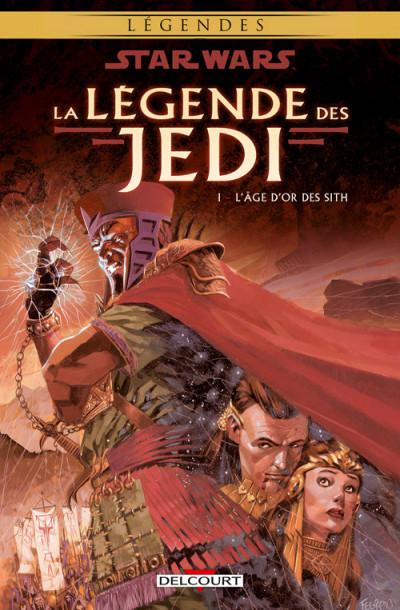 Couverture Star wars - la légende des jedi tome 1