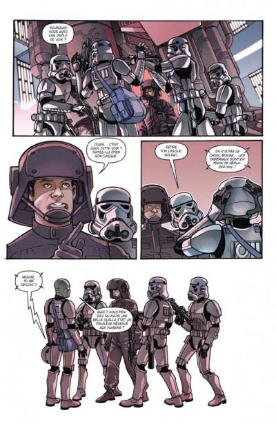Page 2 star wars - rébellion tome 3 - du mauvais côté