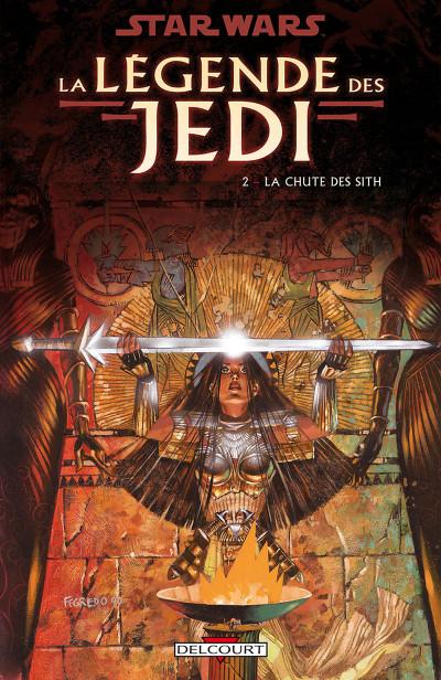 Couverture Star wars - la légende des jedi tome 2