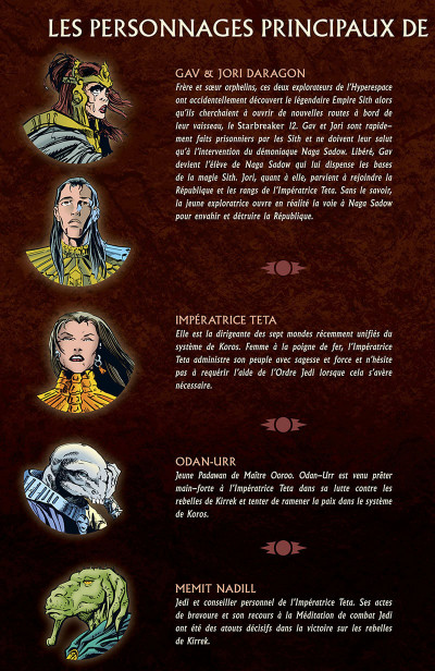 Page 7 Star wars - la légende des jedi tome 2