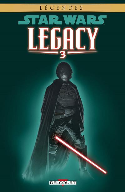 Couverture star wars - legacy tome 3 - les griffes du dragon