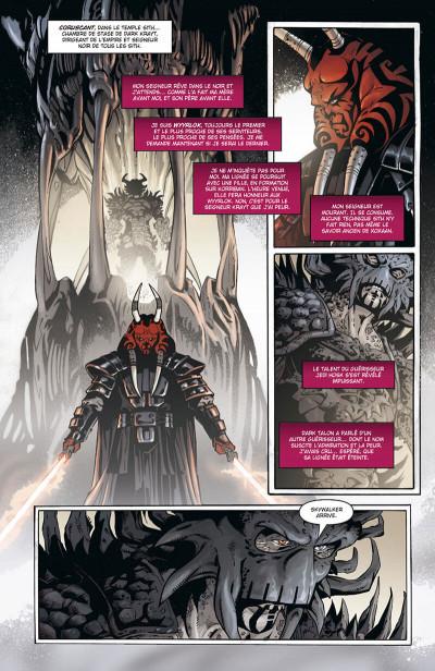 Page 6 star wars - legacy tome 3 - les griffes du dragon