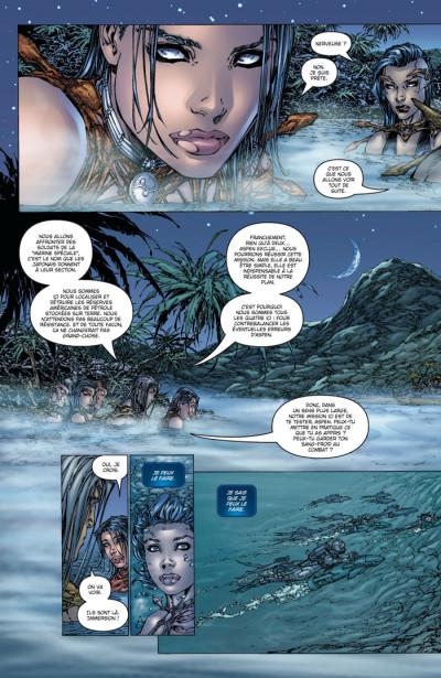 Page 2 fathom - origines tome 3 - soleil bleu