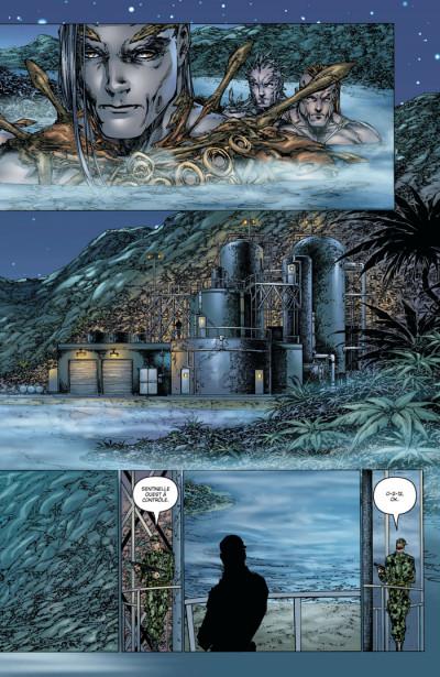 Page 3 fathom - origines tome 3 - soleil bleu