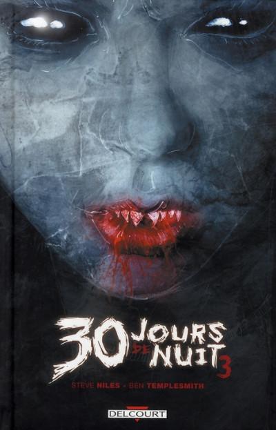 Couverture 30 jours de nuit tome 3 - retour à barrow