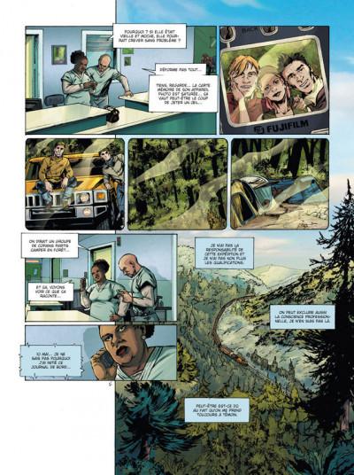 Page 3 7e sens tome 1 - veiller sur le monde