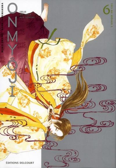 Couverture onmyoji, celui qui parle aux démons tome 6
