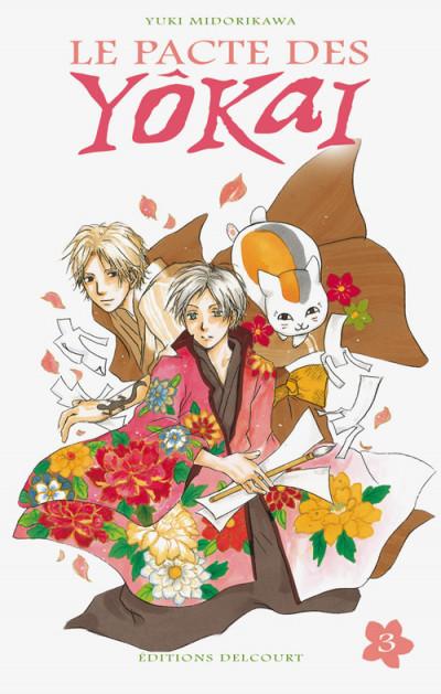 Couverture le pacte des yôkai tome 3