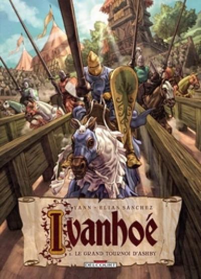 Couverture ivanhoé tome 1 - le grand tournoi d'ashby