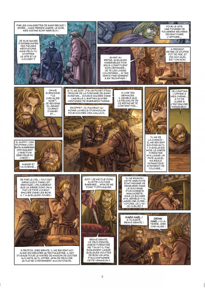 Page 3 ivanhoe tome 2 l'assaut de torquilstone