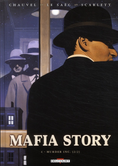 Couverture mafia story tome 4 - murder inc. tome 2/2