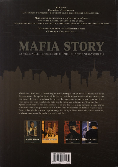 Dos mafia story tome 4 - murder inc. tome 2/2