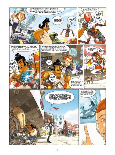 Page 3 l'honneur des tzarom tome 1 - cellules familiales