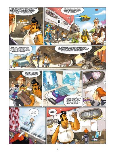 Page 4 l'honneur des tzarom tome 1 - cellules familiales