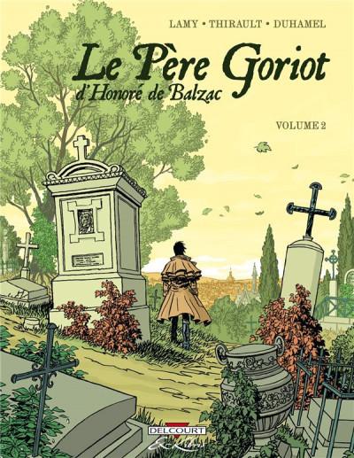 Couverture père goriot, d'Honoré de balzac tome 2