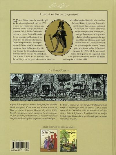 Dos père goriot, d'Honoré de balzac tome 2