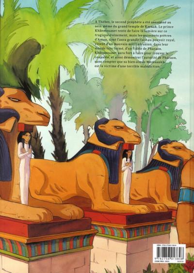 Dos sur les terres d'horus tome 7 - neferhor ou la quête d'isiris
