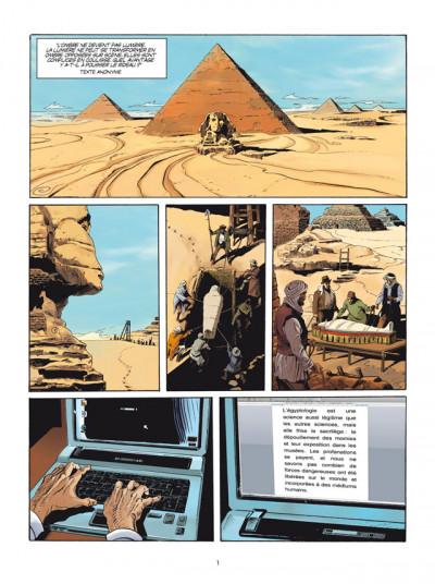 Page 1 prédiction tome 3 - sur le fil