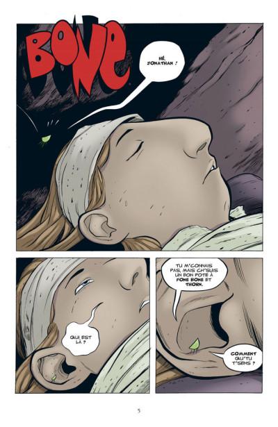 Page 1 bone tome 7 - les cercles fantômes - couleur