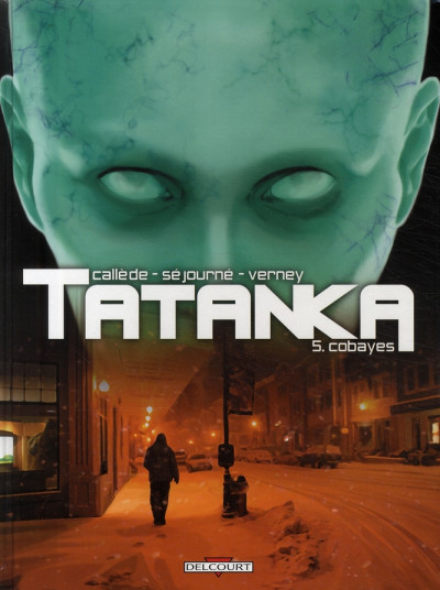 Couverture tatanka tome 5 - cobayes