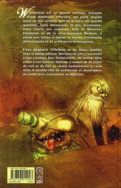 Dos Wormwood tome 1