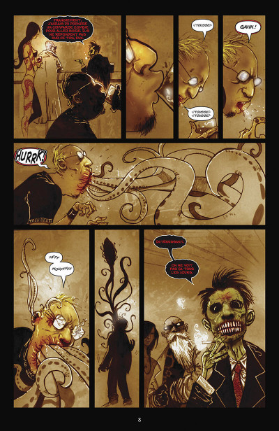 Page 9 Wormwood tome 1