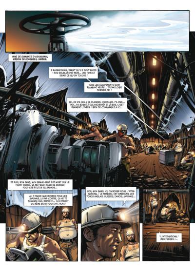 Page 1 le casse tome 1 - diamond
