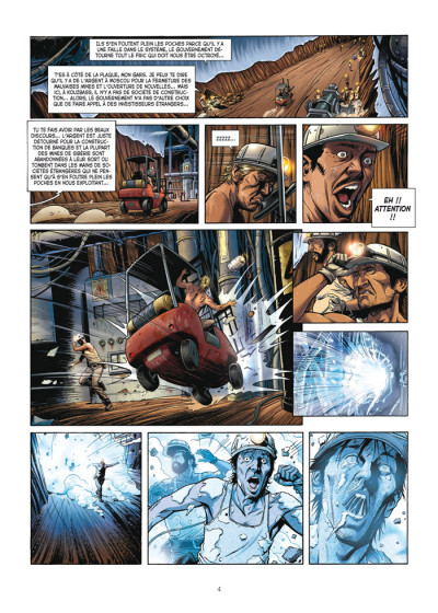 Page 2 le casse tome 1 - diamond